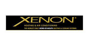 Xenon heating and air conditioning