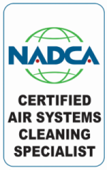 NADCA Certified duct cleaning
