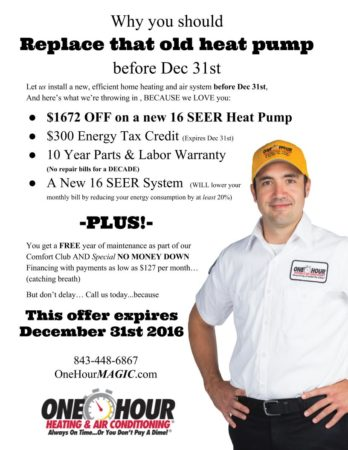 heat pump replacement tax credit, replace old heat pump, air conditioning