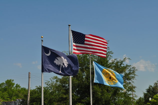 Loris SC Flags Downtown