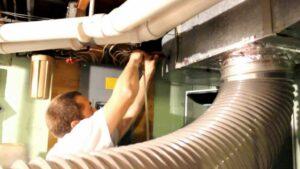 ash duct sealing